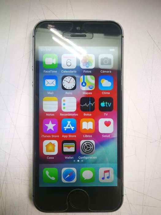 iPhone 5s de 16gb Libre Icloud
