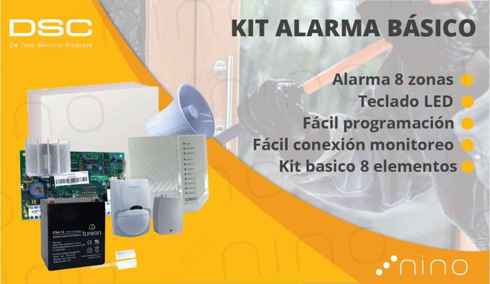 Kit completo alarma seguridad DSC 585 de 8 Elementos