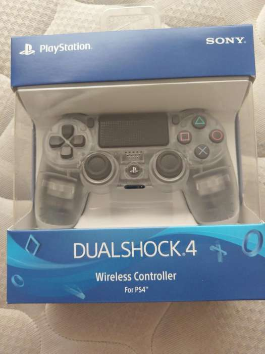 Control Ps4 Playstation 4 Crystal Nuevo