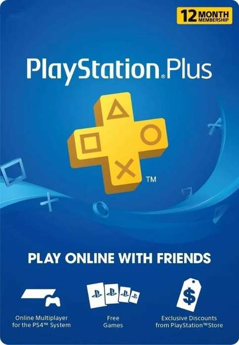 Playstation Plus 1 Año