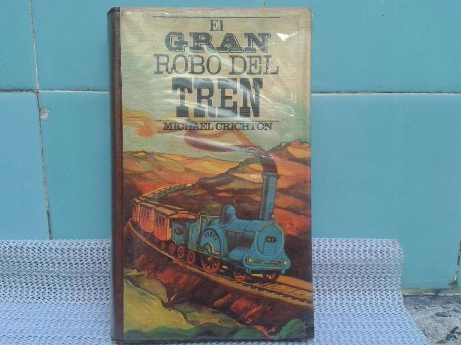 libro gran robo del tren de michael crichton