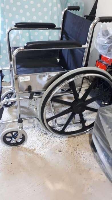 Alquiler de sillas de ruedas estándar - Plegable en Acero y Aluminio