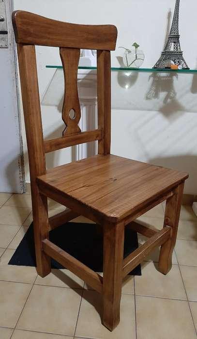 Vendo 6 <strong>silla</strong>s de Madera
