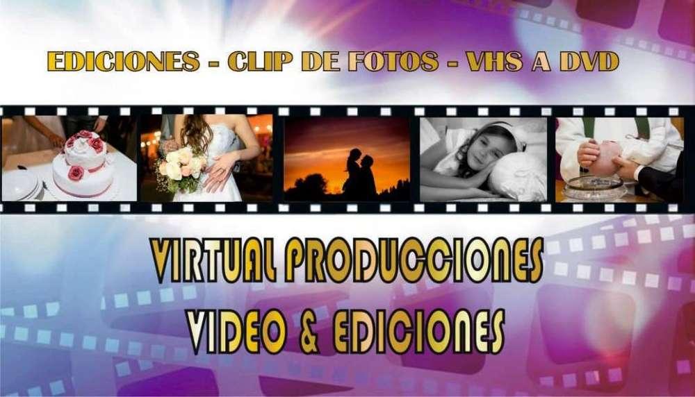 Ediciones de video - clip de fotos