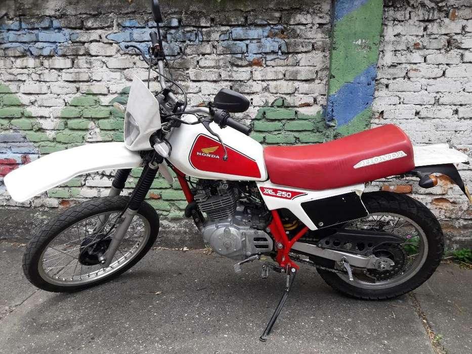 Honda Xl 250 1982