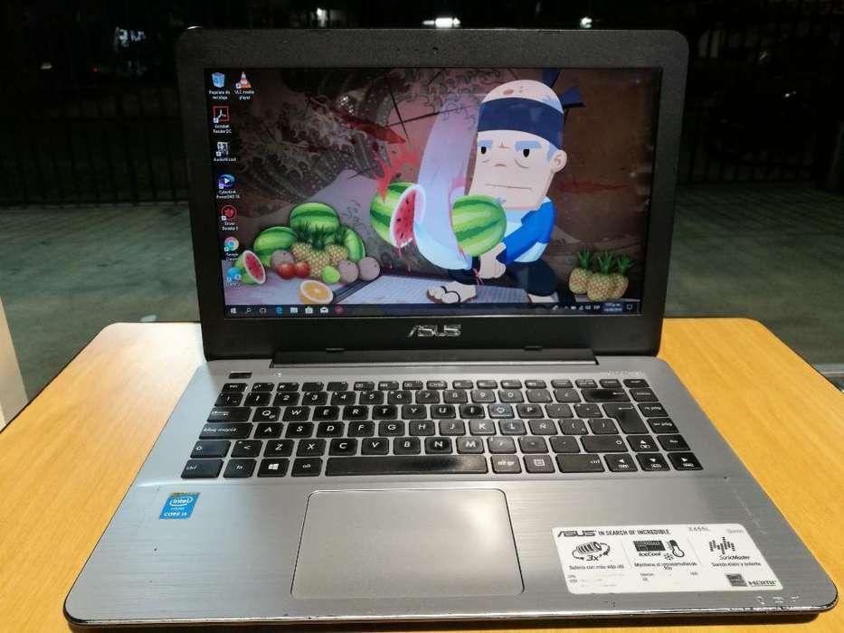 ASUS R454l Intel Core I5 4ta, 4GB DDR3L, HDD 500GB