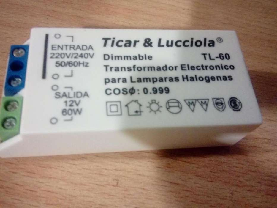 6 transformadores Halogena, dricro, led 12 volt