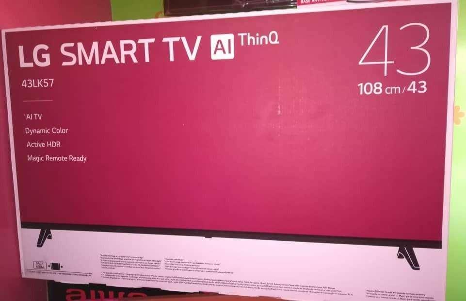 Vendo TV LG DE 43