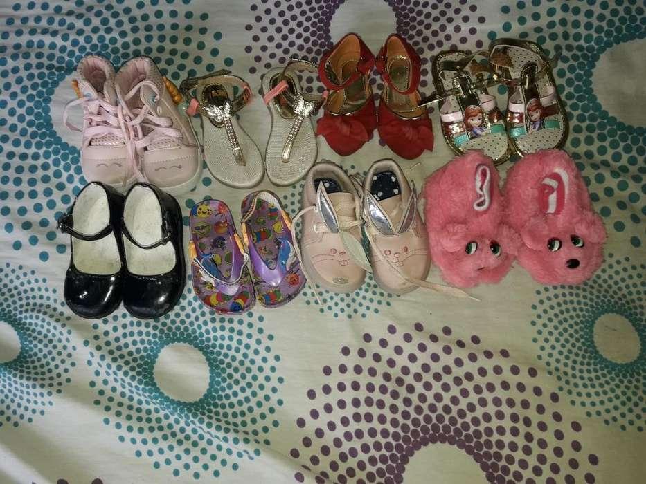 Vendo 8 Pares de Zapatos Varias Tallas