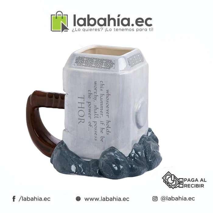 Taza de cerámica (Martillo de Thor)