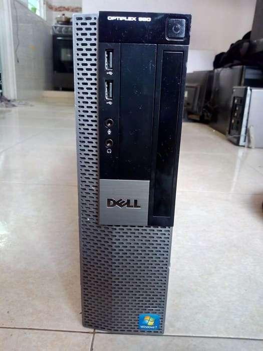 CPU DELL I7 4GB DE RAM DISCO DE 500GB LISTA PARA USAR DOMICILIO