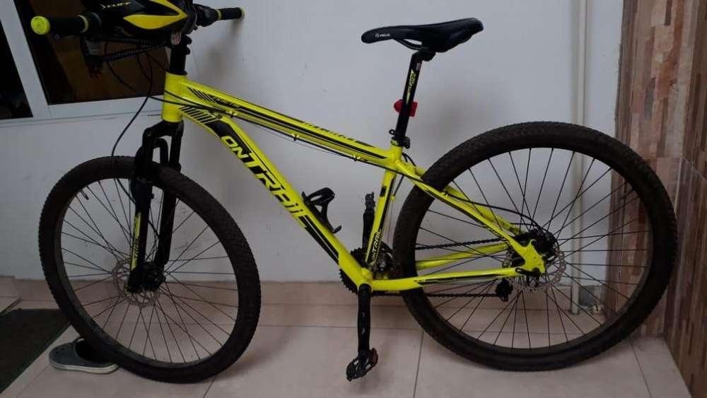 Bicicleta MTB en aluminio