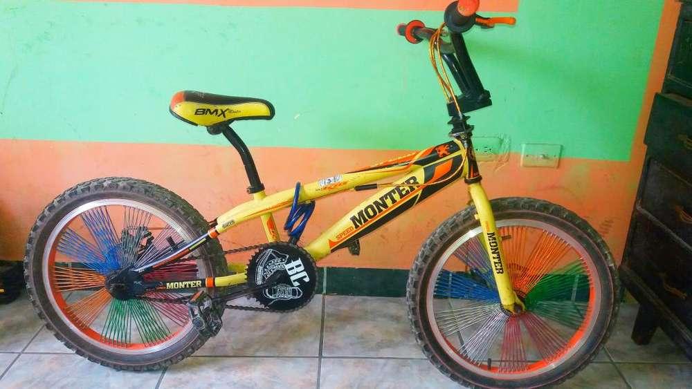 BICICLETA BMX FRENOS DE DISCO