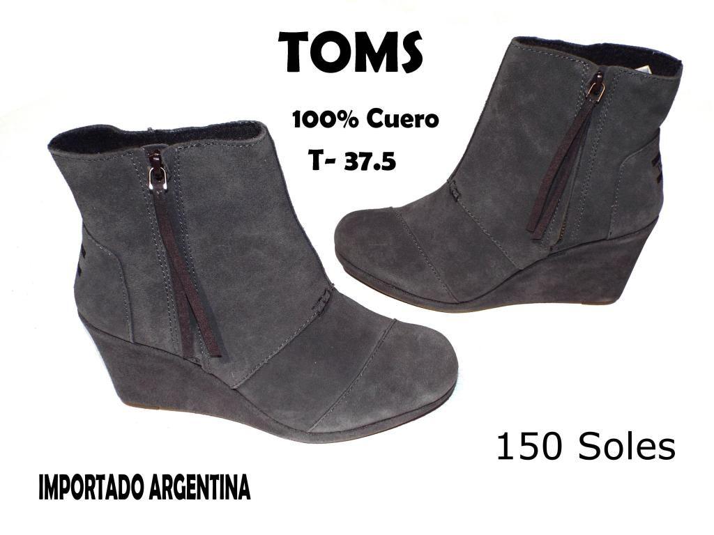 f189b8dcb Botines Botas Mujer Marca Argentina Toms - Lima