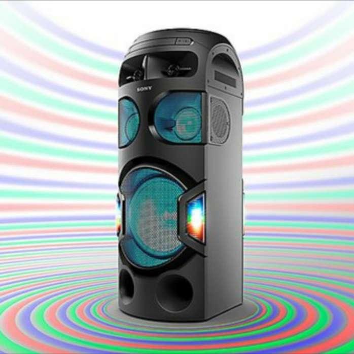 Equipo Sonido Sony Mhcv71d Bluetooth nuevo sellado