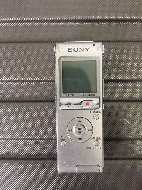 Sony LCD UX512 Grabadora De Voz Digital De 2 GB De Memoria