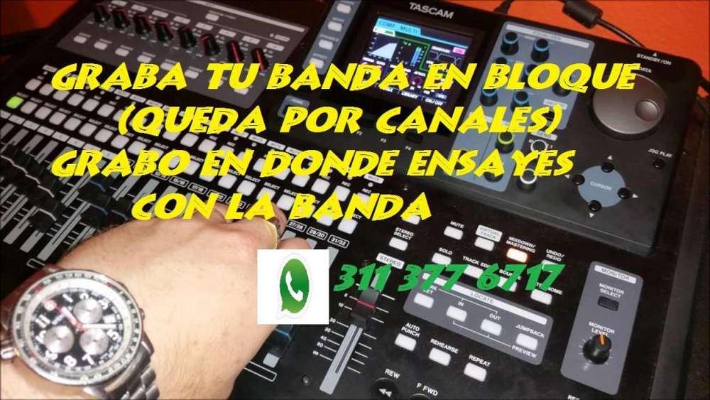 ESTUDIO DE GRABACIÓN PORTÁTIL, PRODUCCIÓN MUSICAL A PRECIOS ACCESIBLES