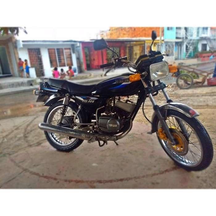 Se Vende Moto Rx115 Mod2008 Solo Tarjeta