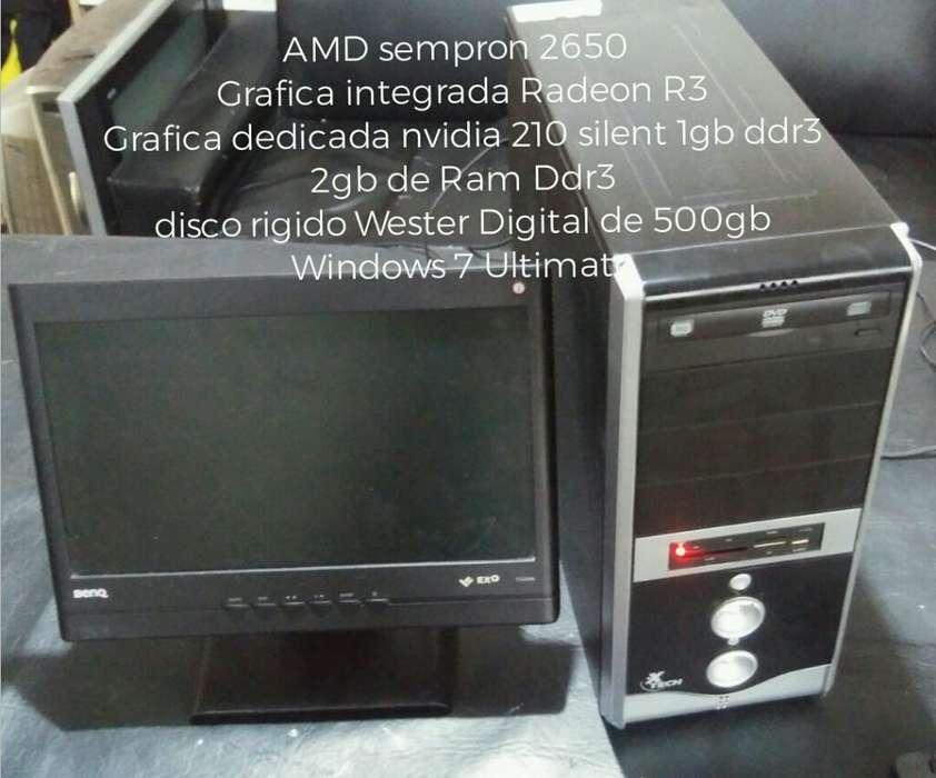 <strong>pc</strong> Amd con Placa de Video Nvidia 210