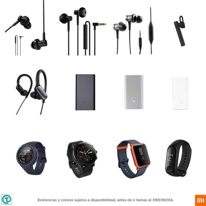 Xiaomi Accesorios, cargador, manos libres, audifonos, amazfit, visitanos, somos tienda fisica.