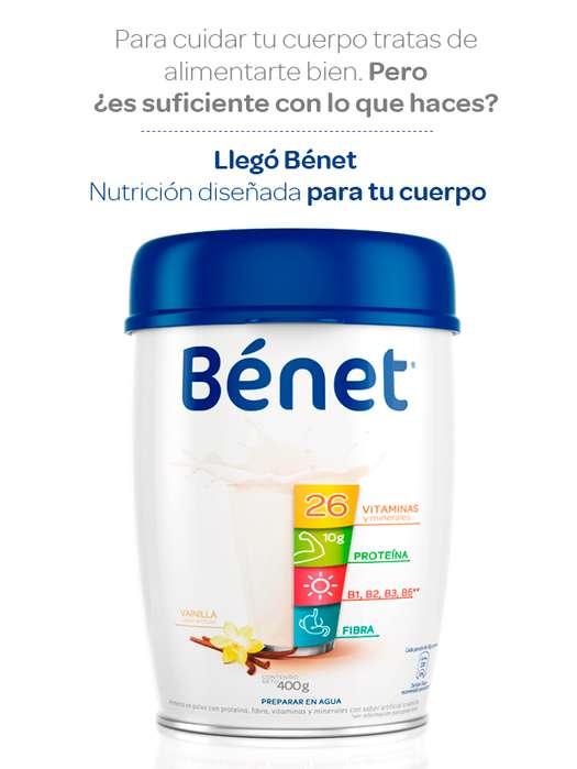Complemento nutricional Benet