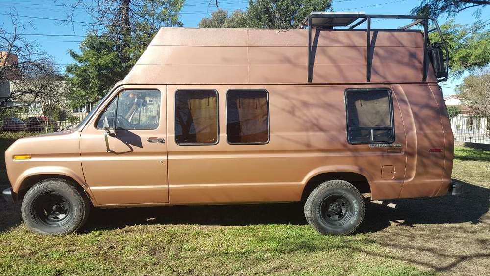 Ford Van Econoline 150 <strong>motorhome</strong> 1981