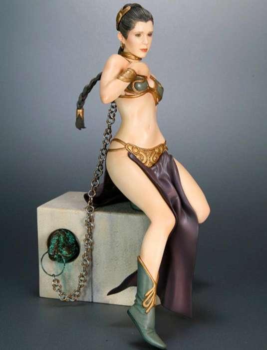 Princesa Leia como esclava Star Wars