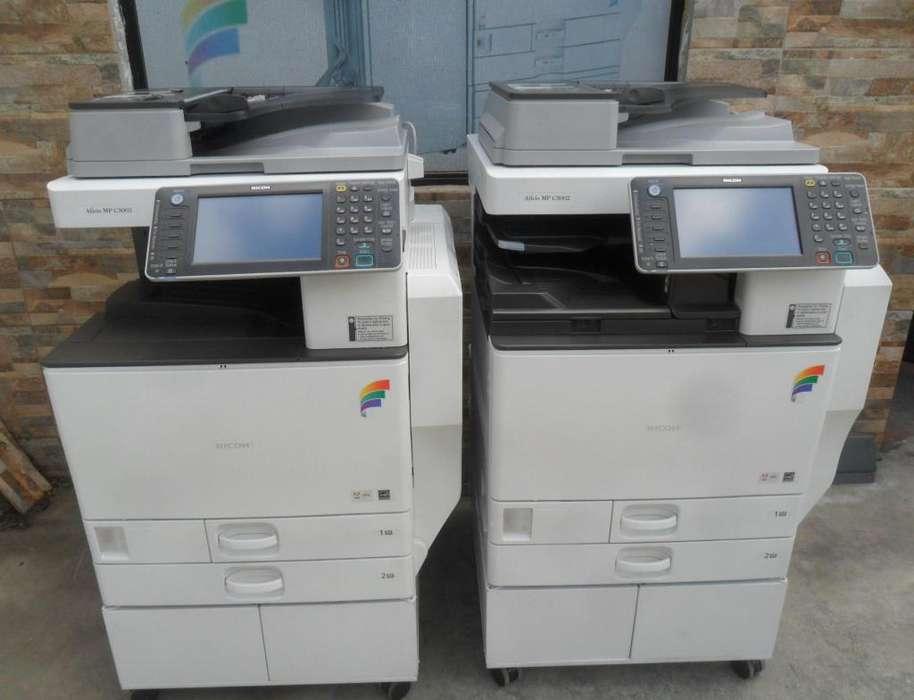 Copiadora ricoh MPC 3002