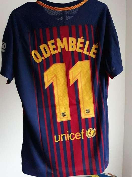 Camiseta Barcelona Dembelé