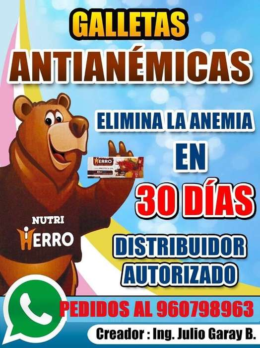 Galletas contra la anemia