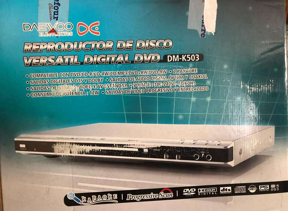 Dvd Player Daevoo
