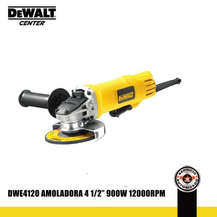 Amoladora 4 1/2 900W DWE4120