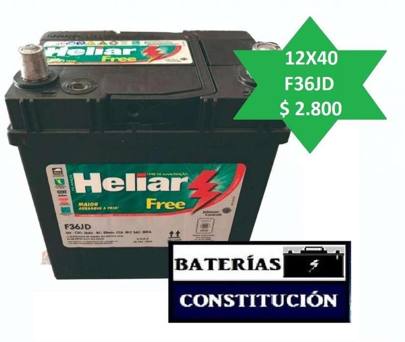 <strong>bateria</strong> NUEVAS HELIAR. FIT Y CIVIC. CAPITAL, BARRIO CONSTITIUCION