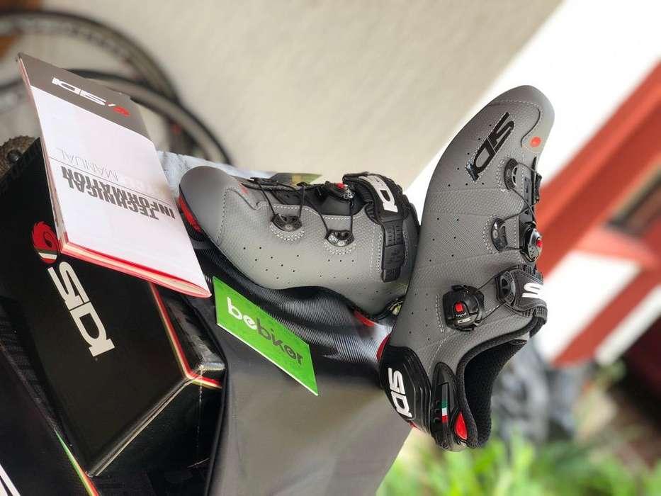 Zapatillas Ciclismo Ruta Sidi Wire 2 New