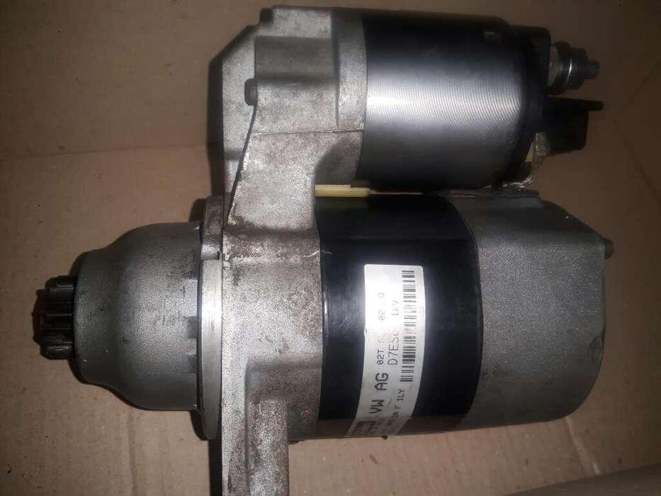 Burro Motor de Arranque Vw Gol Trend Fox