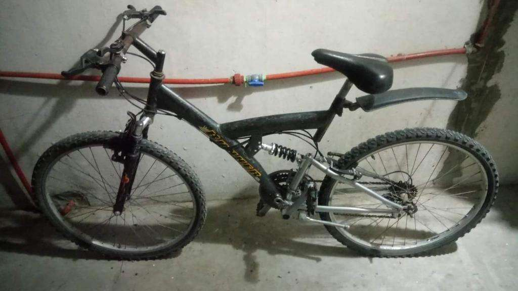 Bicicleta Mtb R26 Doble Suspensión 18vel
