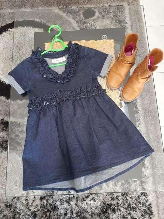 Vestido Denim Nina