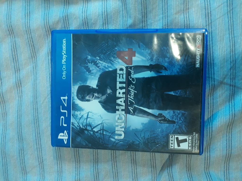 Uncharted4 Ps4