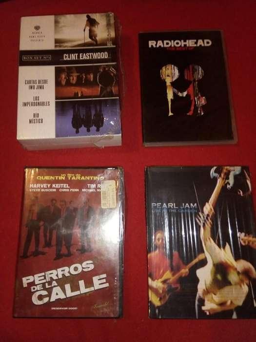 DVD Originales Música y Cine