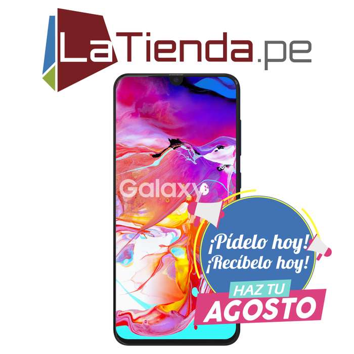 Samsung Galaxy A70 - batería de carga rápida