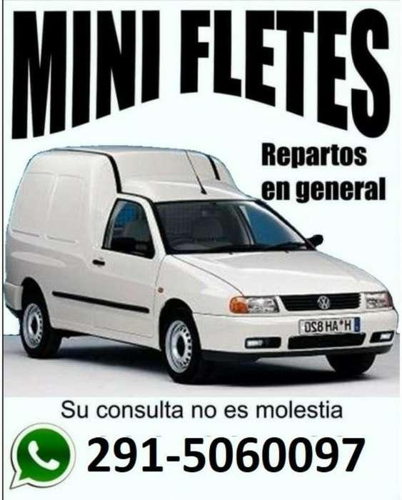 Mini Fletes Las 24 Hs