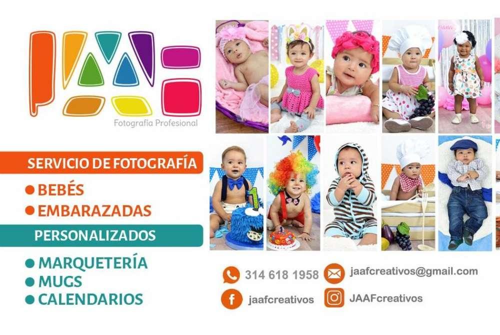 Fotografía profesional para bebés