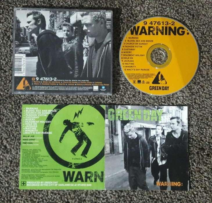 Green Day Cd Warning