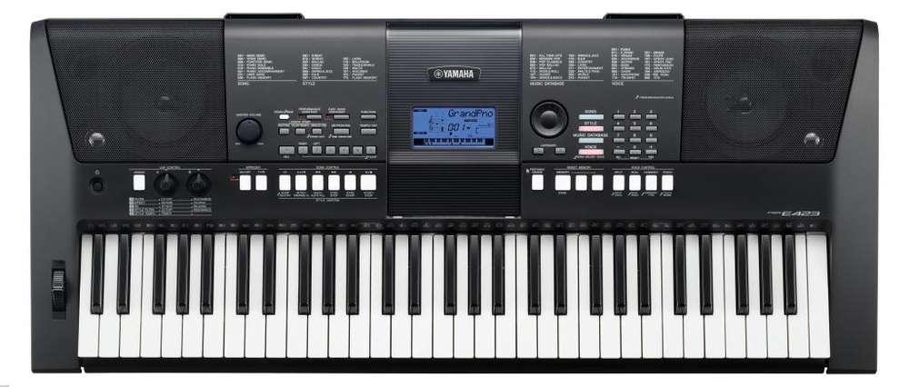 Organeta Teclado Digital Yamaha Psr E423