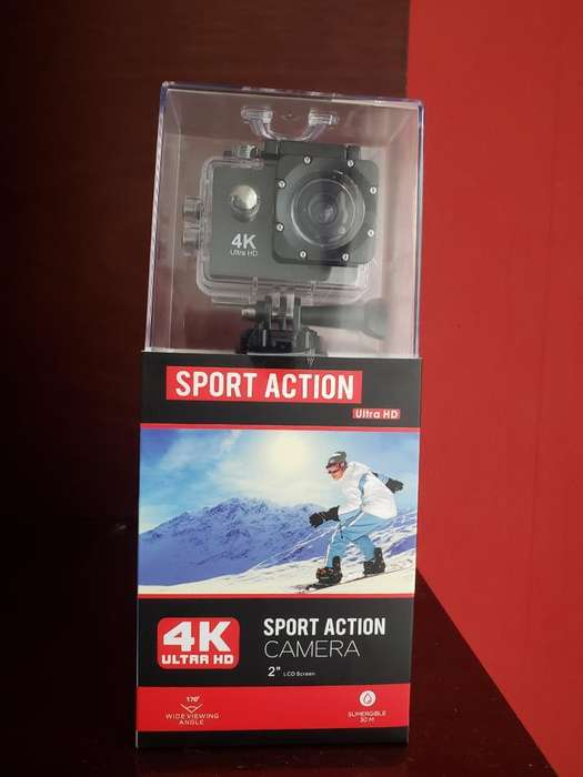 Sport Action Camara 4k Ultra Hd