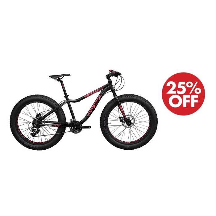 Bicicleta GW ruedas gordas mtb