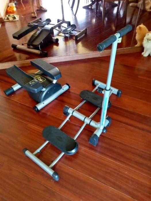 Set de Maquinas de Ejercicio Escalador y LegMagic REMATO
