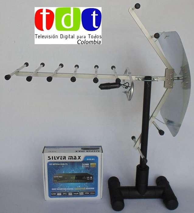 Kit TDT: Antena Decodificador