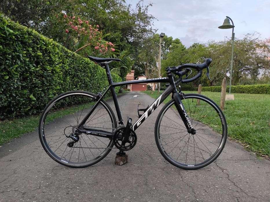 Bicicleta Ruta Gw Flamma Y Zapatos Scott