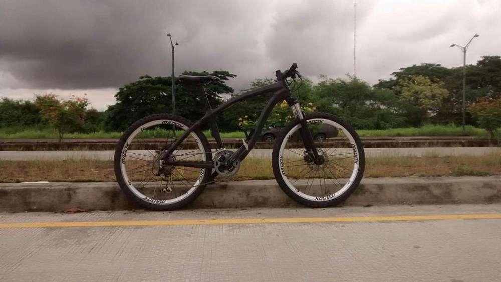 <strong>bicicleta</strong> Montañera Fibra de Carbon